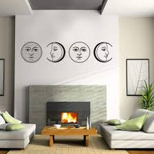 Amazon Com Wb000018 24 Moon Phases 24 Inch Vinyl Wall Decal Posters Prints
