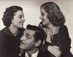 Myrna, Clark Gable and Jean Harlow | Grandes del cine, Cine