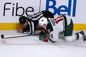 Zach Parise injury: Wild forward out 2-3 weeks with foot contusion -  SBNation.com