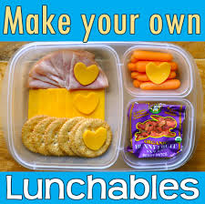 homemade healthy lunchables for kids