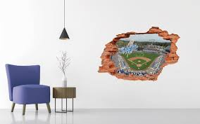 Los Angeles Dodgers Stadium Wall Decal Egraphicstore