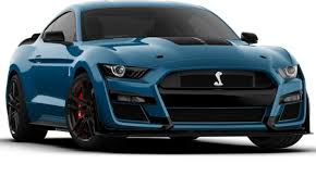 2020 ford mustang shelby gt500 colors