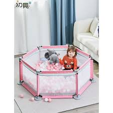 Early Baby Playpen Children S Guard Bar Child Baby Safety Toddler Fence Crawling Mat Shopee Philippines