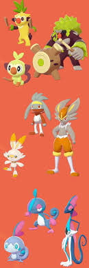 Starter Line Shiny Leak Showcase   Pokémon Sword and Shield