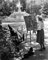 Myrtle Jones in Forsyth Park, Savannah, Georgia