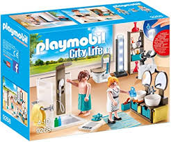 Amazon Com Playmobil Bathroom Set Building Set Toys Games