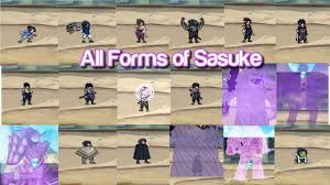 All Forms of Sasuke - Bleach VS Naruto MUGEN - YouTube
