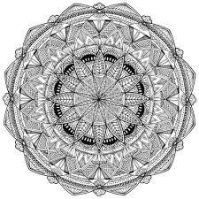 Mandala Kleurplaat Judie Alberts