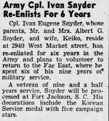Ivan Snyder - Newspapers.com