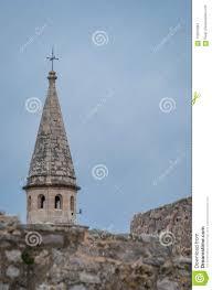 Church Of St Ivan Bell Tower Stock Photo - Image of coast, balkan: 115010944