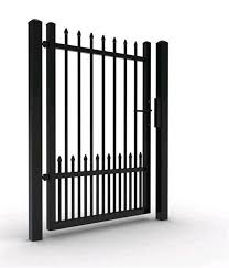 China Outdoor Decoration Steel Design Wrought Garden Fence Wrought Iron Fence Gate China Fence Fence Panel