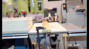 Improving Makita Table Saw Extension Table Router Table Youtube
