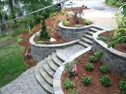 retaining wall ideas front yard