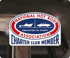 Nhra Charter Club Member Sticker Decal V8 Drag Racing National Hot Rod Gasser Ebay