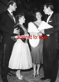 CLINT WALKER FESS PARKER STEP OUT WITH THEIR WIVES | #150017333