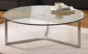 circle glass coffee table round glass