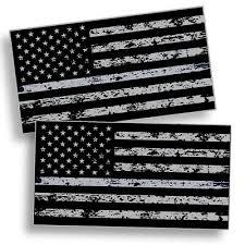 Grey American Flag Decal 2 49 Dealsan
