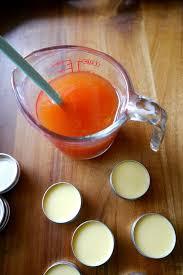 orange clove lip balm