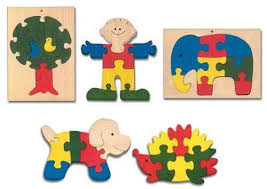 chunky wooden jigsaw puzzle