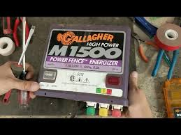 How To Repair A Gallagher Fence Charger Gallagher M1500 دیدئو Dideo