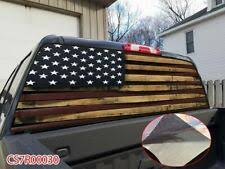 Automotive Decals Stickers Parts Accessories Usa Flag Pow Mia Rear Window Graphic Decal Sticker Car Truck Suv Van 226 Telesys Co In