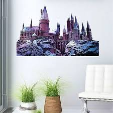 Stickers Hogwarts Castle Harry Potter 3d Window Decal Wall Sticker Home Decor Art J258 Stickers Home Garden
