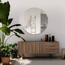 venetian all glass wall mirror