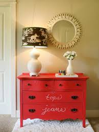 Create A Colorful Chalkboard Dresser Hgtv