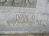 Ivan Dallas Snyder (1893 - 1970) - Genealogy
