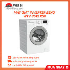 GIAO HCM] Máy giặt Beko WTV 8512 XS0, 8.0kg, Inverter