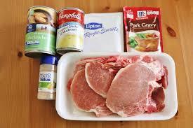 crock pot pork chops and gravy video