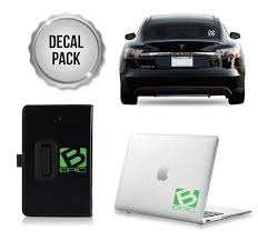 B Epic Mini Decal Pack Greens Whites B Epic Gear