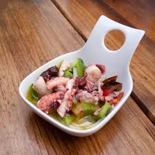 Recipe for Greek Style Octopus Salad