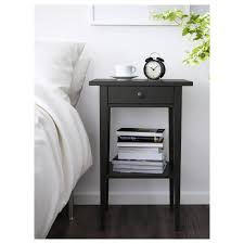 popular small black bedside table