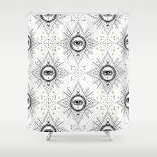 sacred geometry seamless pattern with