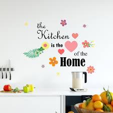 Shop Walplus Kitchen Quote Wall Sticker Decal Home Decoration Diy Art Set 1 Overstock 31770413