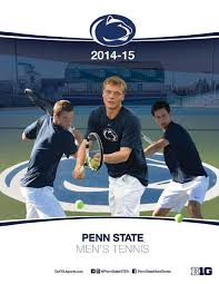2014-15 Penn State Men's Tennis Yearbook by Penn State Athletics - issuu