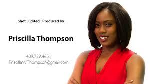 Priscilla Thompson Demo Reel on Vimeo