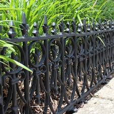 victorian garden fence heavy antique