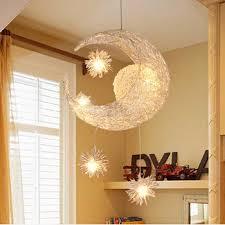 Modern Pendant Light Moon Lamp Star Pendant Lamp Bedroom Led Hanging Lamp Kitchen Fixture Lighting Children Kids Room Lamp Light Modern Led Chandelier Led Chandelierled Chandelier Light Aliexpress