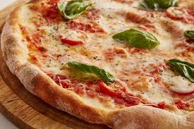 pizza with vegetable toppings