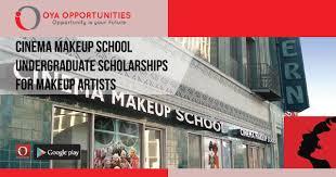 cinema makeup undergraduate