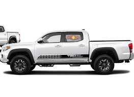 Product Toyota Tacoma 2016 2019 Trd Off Road Side Skirt Vinyl Decals Graphics Sticker