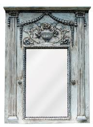 fontaine trumeau wall mirror antique