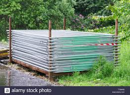 Temporary Fence High Resolution Stock Photography And Images Alamy