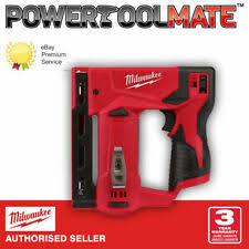 Milwaukee M12 Bst 0 Crown Stapler Tool Only For Sale Online Ebay