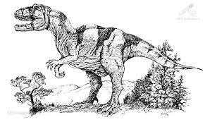 Kleurplaat Dieren Dinosaurus Dinosaurus Kleurplaat