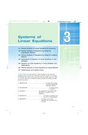 3 systems of linear equations manualzz