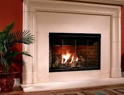reveal gas fireplace by majestic