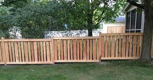Wood Fences Athanas Fence Company